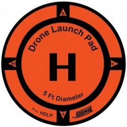 Drone Launch Pad diam 245cm (8ft) - HOODMAN