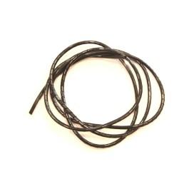 Tube Spirale ID 7mm / OD 8mm (Noir - 2 Metre)