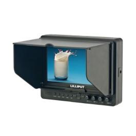 Ecran LCD haute définiton 665/O HDMI (7 pouces) - LILLIPUT