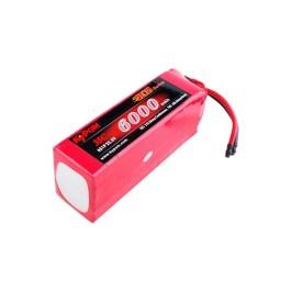 Batterie 6000mAh 22,2V 35C 6S - KYPOM