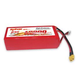 Batterie 10000mAh 22,2V 25C 6S - KYPOM