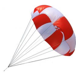 Parachute de secours 2,5m2