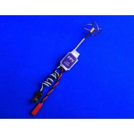 Emetteur Super Light 10g 5.8G 200mW A/V FVM200 W/ Antenne Trèfle