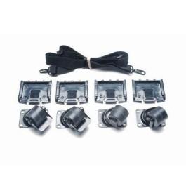 Kit roulettes pour Peli Case 0350 et 0370