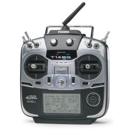 RADIO 14SG 2.4Ghz Accu LiPo + R-7008SB (M2) - FUTABA
