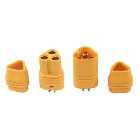 Connecteurs moteur/ESC MT60 3.5mm 3 pins
