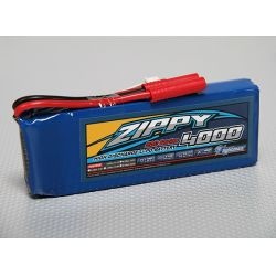 Batterie 4000mAh 11,1V 20C 3S - ZIPPY