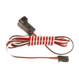 Câble écolage 9C (prises carées 6 broches) - FUTABA