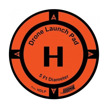 Drone Launch Pad diam 245cm (8ft) - HOODMAN