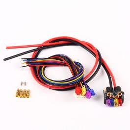 Core PCB + 12AWG Silicon fils + 600mm Molex prises [GPD-0012DC] - Gryphon