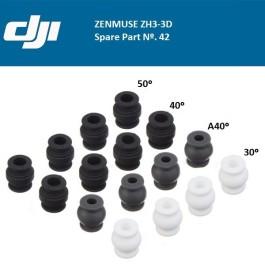 Dampers pour Zenmuse H3-2D (Phantom 1 et 2) - DJI