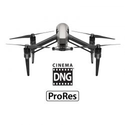 Combo Inspire 2 DJI - Licences CinemaDNG & Apple ProRes