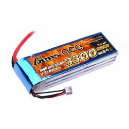 Gens ace 3300mAh 11.1V 25C 3S1P Batterie Lipo