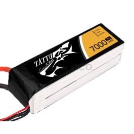 Tattu 7000mAh 22.2V 25C 6S1P Batterie Lipo
