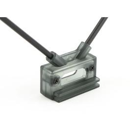 1 Support d'antenne à 45 degrés