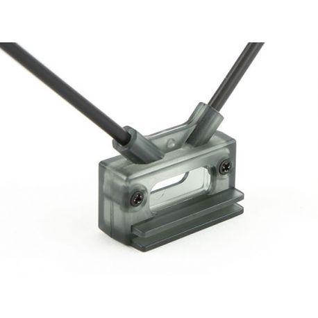 Support d'antennes à 45 degrés