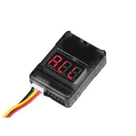 Testeur 2-8s avec alarme de faible voltage