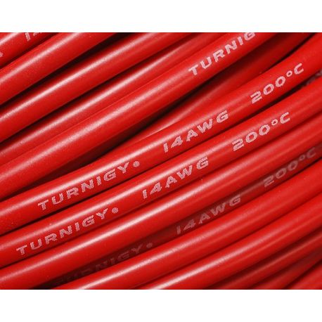 Turnigy Câble Pure-Silicone 16AWG (1mtr) Rouge