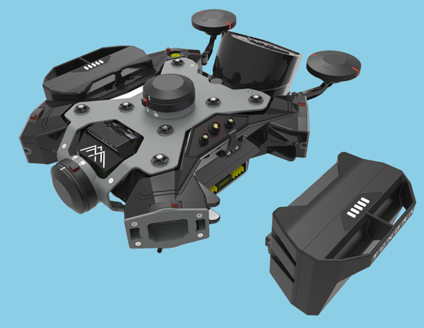 Batteries drone Tundra