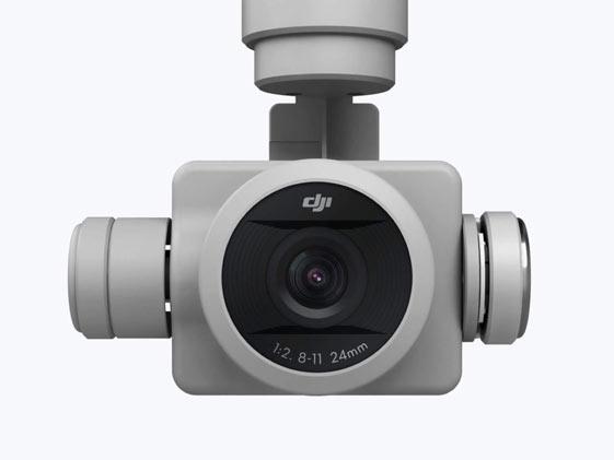 objectif de la caméra du phantom 4 pro v2.0